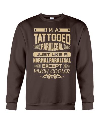 TATTOOED PARALEGAL T SHIRTS