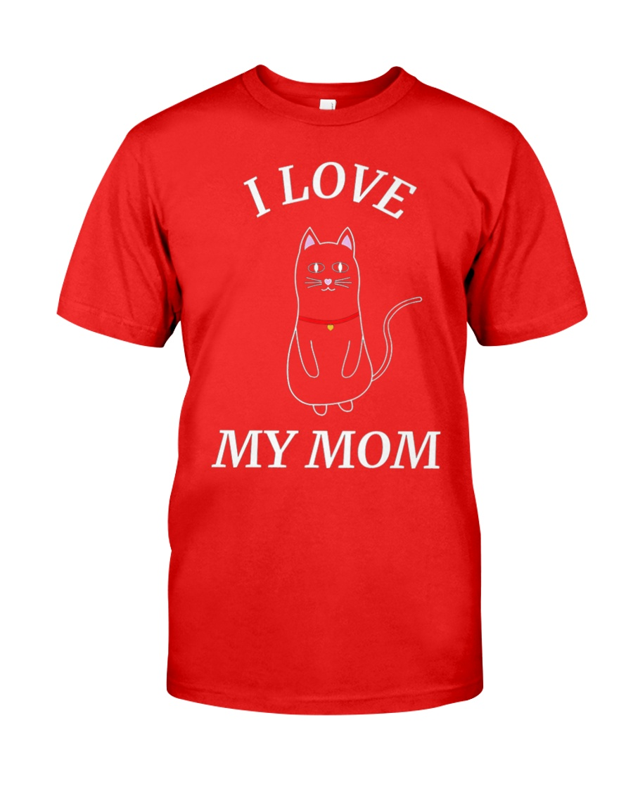 MOTHERS DAY CATS SHIRT FOR WOMEN MEN AND Classic T-Shirt