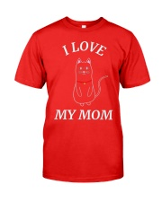 MOTHERS DAY CATS SHIRT FOR WOMEN MEN AND Classic T-Shirt front