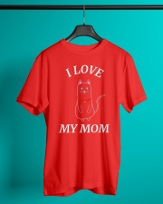 MOTHERS DAY CATS SHIRT FOR WOMEN MEN AND Classic T-Shirt lifestyle-mens-crewneck-front-3
