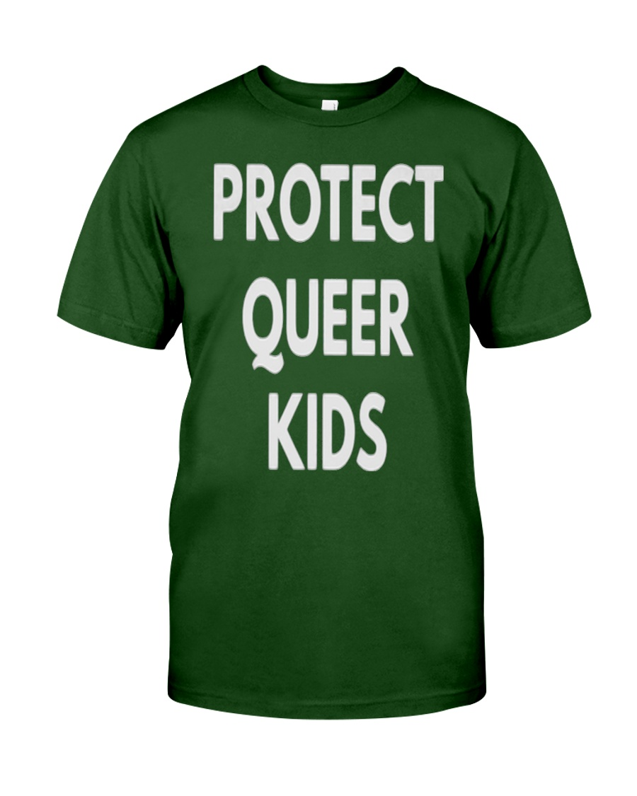Protect Queer Kids t-shirt - LGBT Pride Shirts Classic T-Shirt