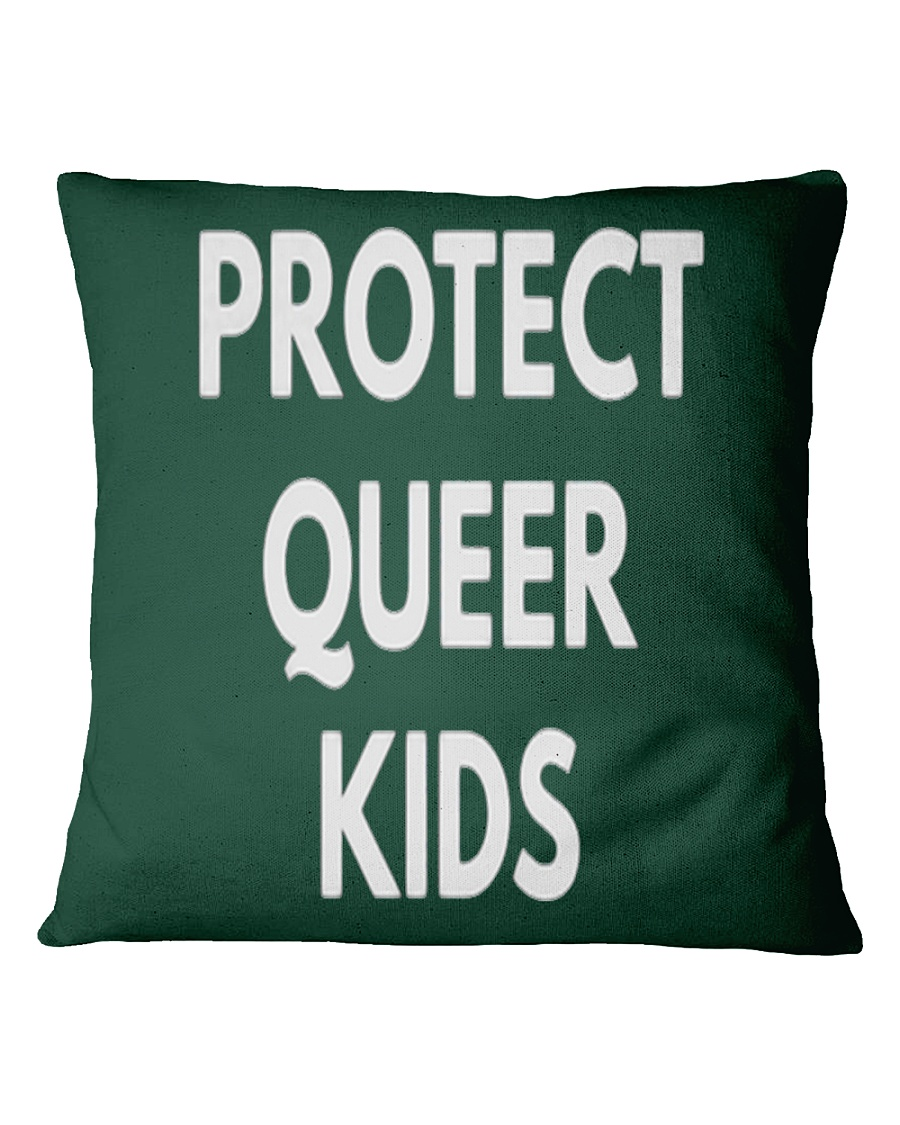 Protect Queer Kids t-shirt - LGBT Pride Shirts Square Pillowcase