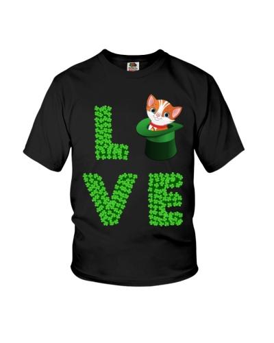 Dog Shirt Cat Cat Leprechaun  St Pattrick Day