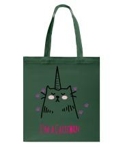 I'm A Caticorn Tote Bag thumbnail