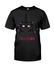 I'm A Caticorn Classic T-Shirt front