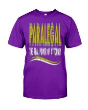Paralegal T-Shirt Classic T-Shirt front