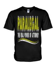 Paralegal T-Shirt V-Neck T-Shirt thumbnail