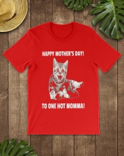 Mothers day cat 1 Classic T-Shirt lifestyle-mens-crewneck-front-18
