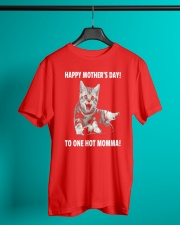 Mothers day cat 1 Classic T-Shirt lifestyle-mens-crewneck-front-3