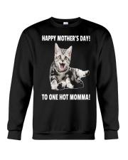 Mothers day cat 1 Crewneck Sweatshirt thumbnail