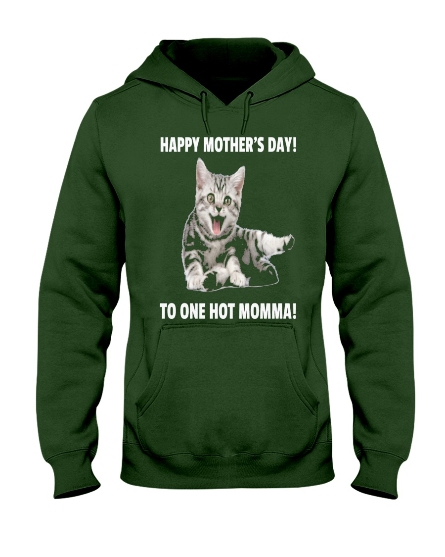 Mothers day cat 1 Hooded Sweatshirt