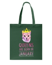 January Queens Cat Are Born In  Tote Bag thumbnail