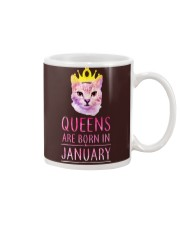 January Queens Cat Are Born In  Mug thumbnail