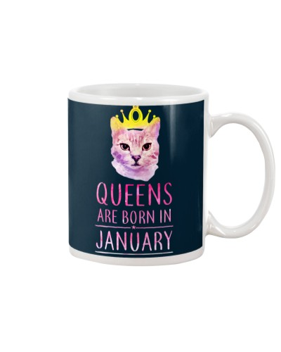 January Queens Cat Are Born In