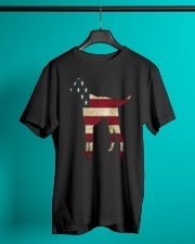 Delta Dogs - Red White and Blue Classic T-Shirt lifestyle-mens-crewneck-front-3