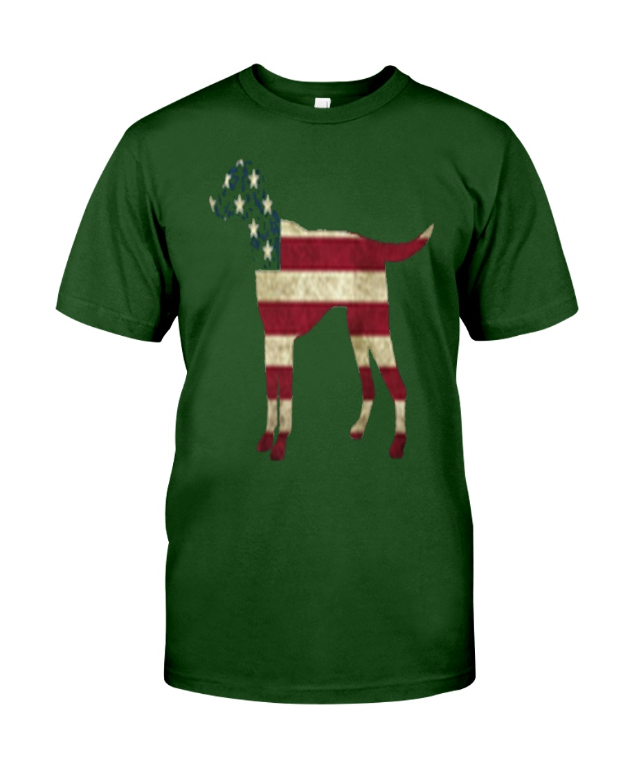 Delta Dogs - Red White and Blue Classic T-Shirt