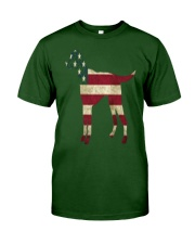 Delta Dogs - Red White and Blue Classic T-Shirt front
