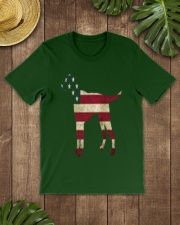 Delta Dogs - Red White and Blue Classic T-Shirt lifestyle-mens-crewneck-front-18
