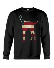 Delta Dogs - Red White and Blue Crewneck Sweatshirt thumbnail