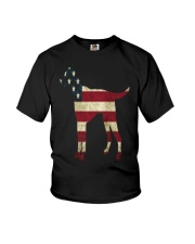Delta Dogs - Red White and Blue Youth T-Shirt thumbnail