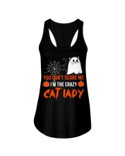 Halloween Cat You Can't Scare Me  Ladies Flowy Tank thumbnail
