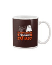 Halloween Cat You Can't Scare Me  Mug thumbnail