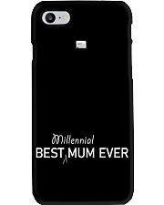 Best Millennial Mum Ever Mothers Day Phone Case tile