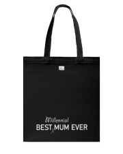 Best Millennial Mum Ever Mothers Day Tote Bag thumbnail