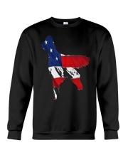 Patriotic Golden Retriever Crewneck Sweatshirt thumbnail