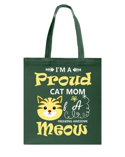 I Am A Proud Cat Mom Cat