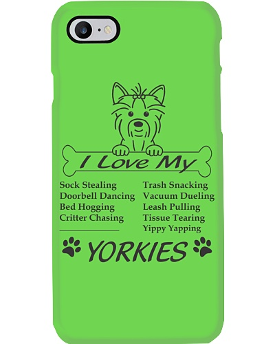 Yorkies - Sock Stealing Doorbell Dancing Bed Hog