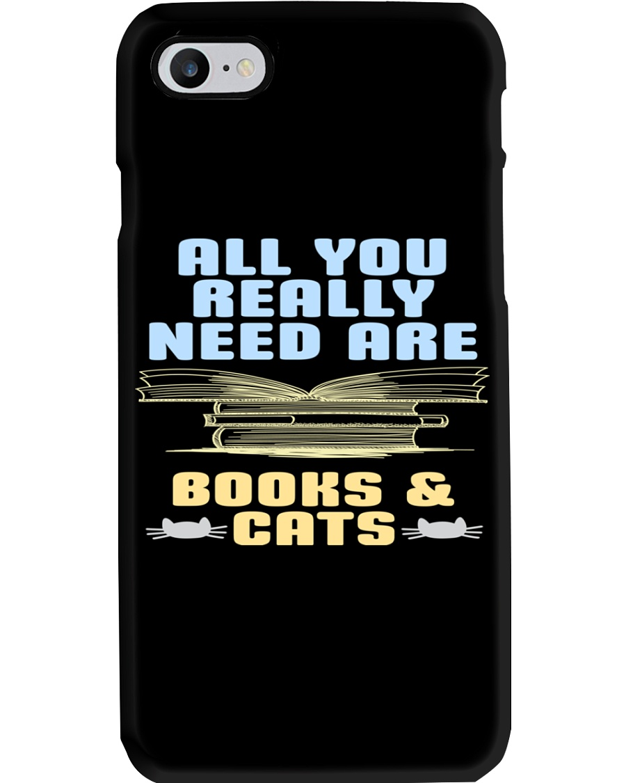 All you really need are BOOKS CATS Phone Case