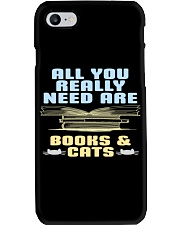 All you really need are BOOKS CATS Phone Case i-phone-7-case