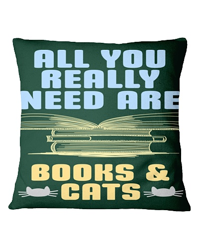 All you really need are BOOKS CATS