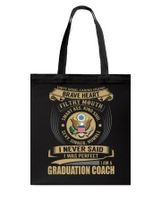 Graduation Coach 3 Tote Bag thumbnail