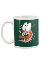 crazy Courage the Cowardly dog Mug back