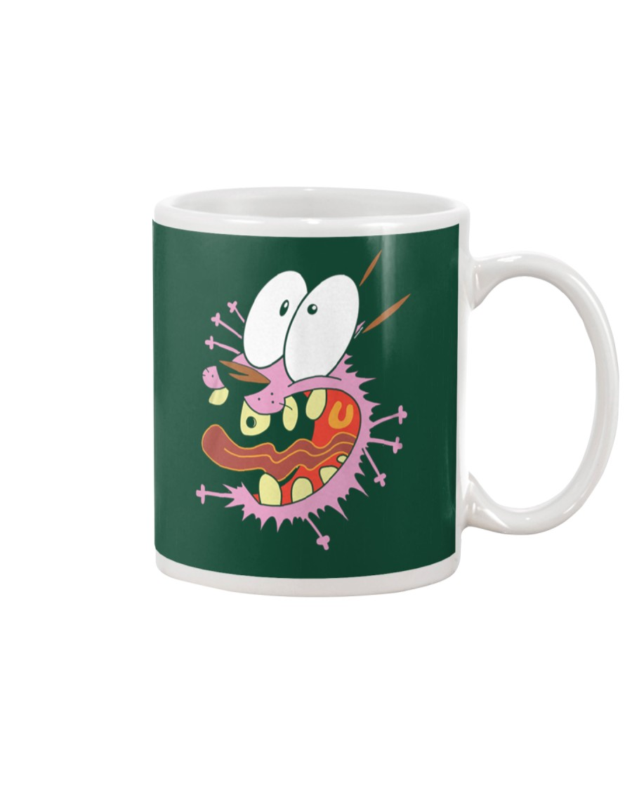 crazy Courage the Cowardly dog Mug