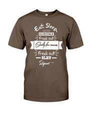 NURSING SCHOOL GRADUATION RN LPN NURSE G Classic T-Shirt front