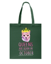 October Queens Cat Are Born In T Shirt Hoodie Tote Bag thumbnail