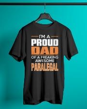 PROUD DAD - PARALEGAL Classic T-Shirt lifestyle-mens-crewneck-front-3