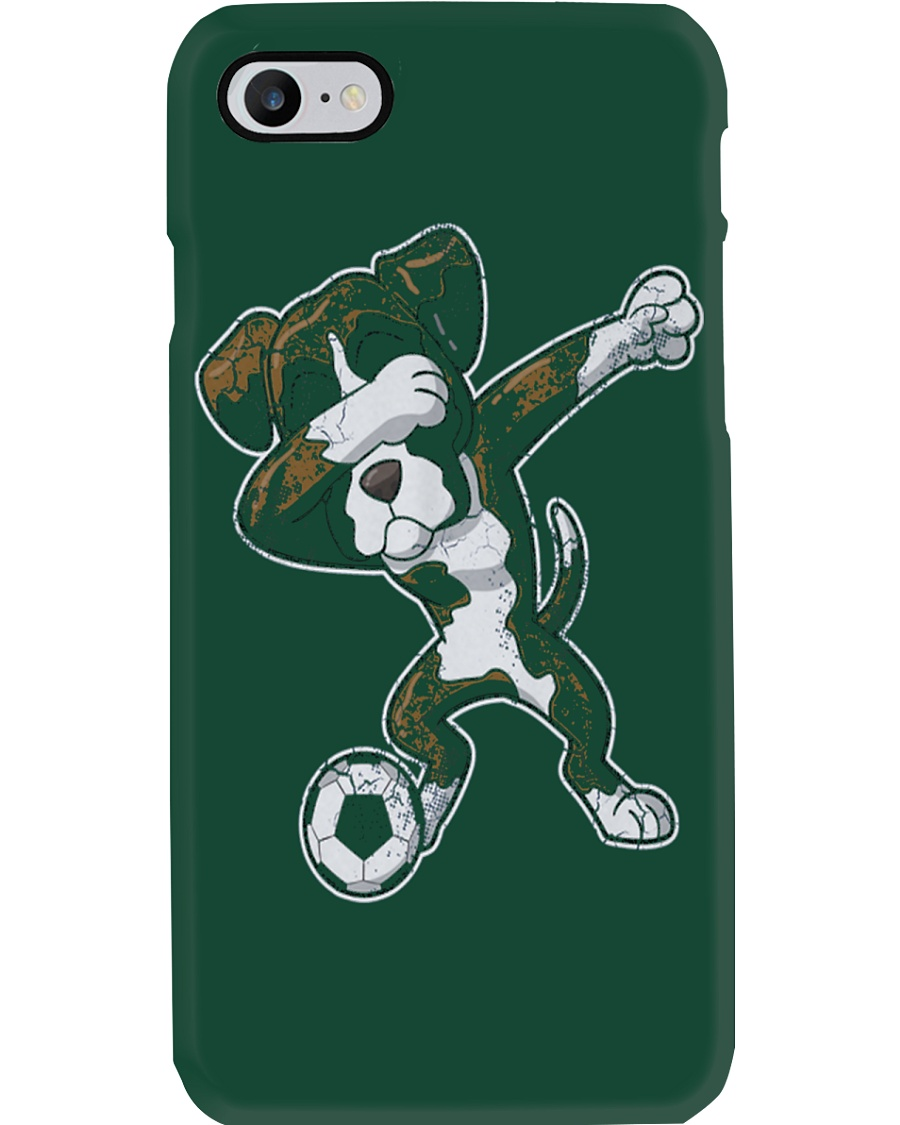 Dabbing Futbol Soccer Boxer Dog Phone Case showcase