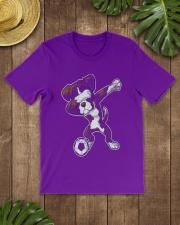 Dabbing Futbol Soccer Boxer Dog Classic T-Shirt thumbnail