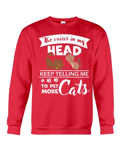 Head Keep Telling Me To Pet Cats More