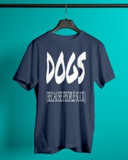 Dogs Because People Suck Classic T-Shirt thumbnail