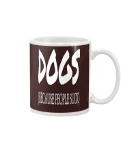 Dogs Because People Suck Mug thumbnail