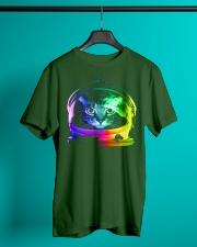Astronaut Cat Classic T-Shirt lifestyle-mens-crewneck-front-3