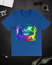 Astronaut Cat Classic T-Shirt lifestyle-mens-crewneck-front-16