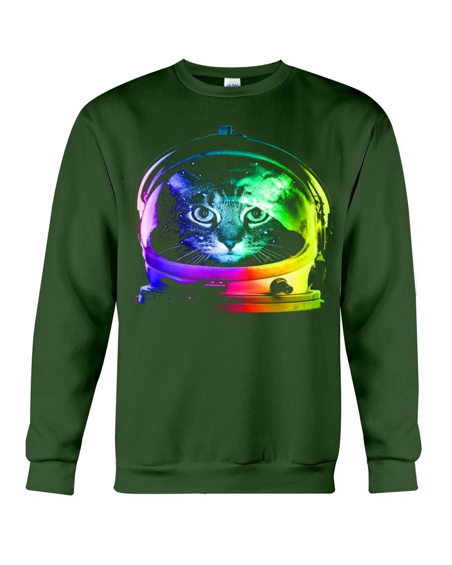 Astronaut Cat Crewneck Sweatshirt