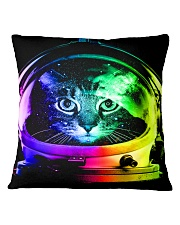 Astronaut Cat Square Pillowcase thumbnail