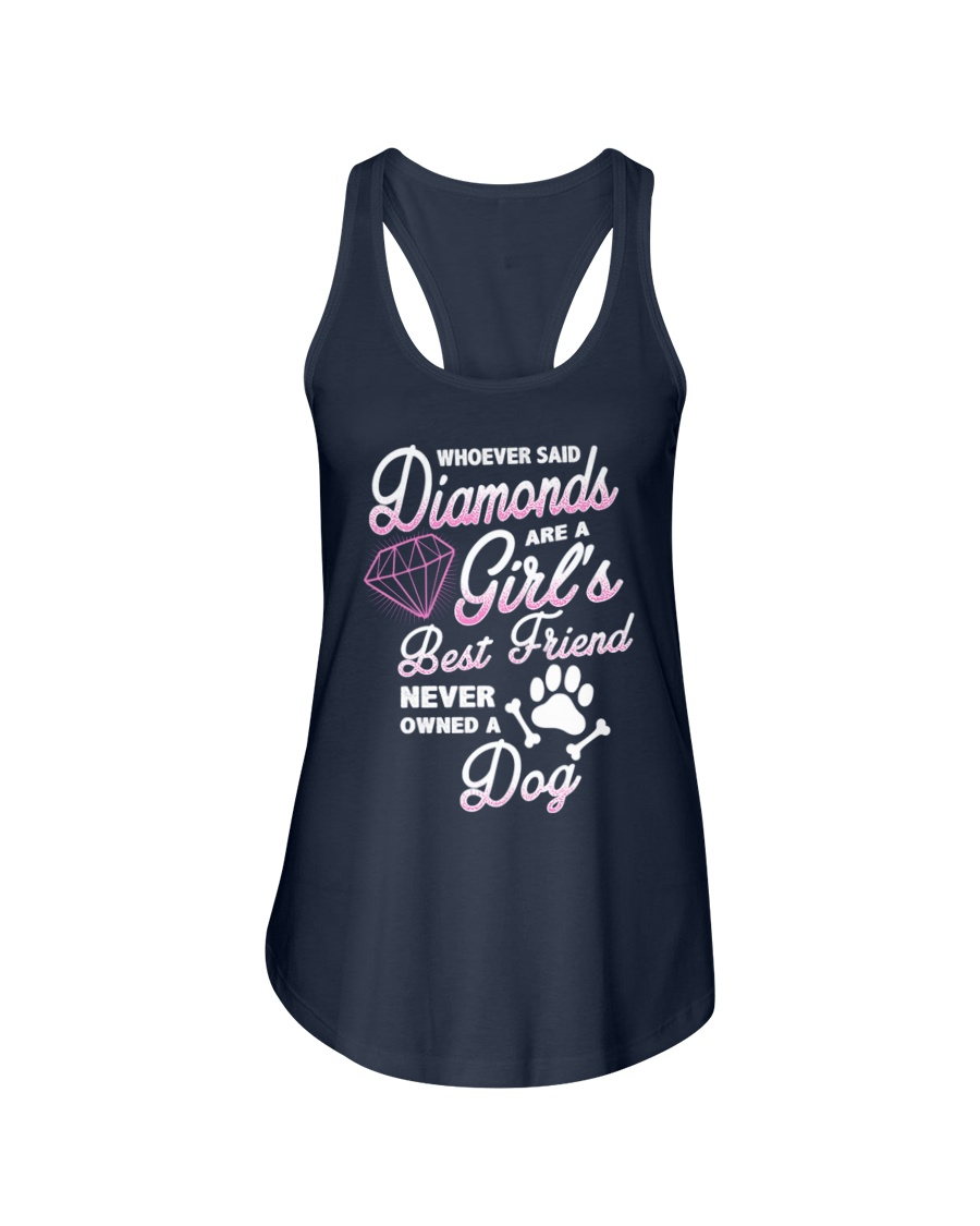Diamond Dog Ladies Flowy Tank
